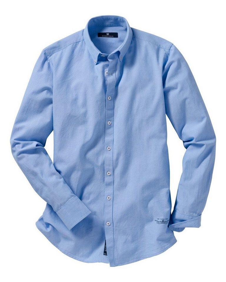 Basefield Oxford Hemd in Hellblau