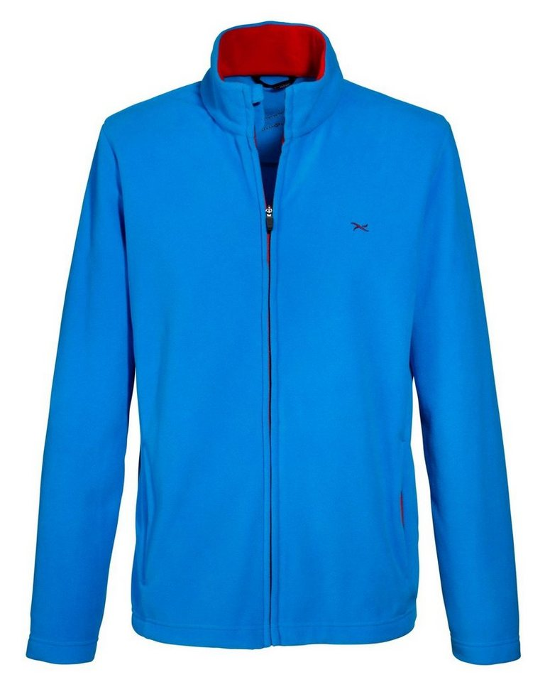 BRAX active Fleecejacke ACE in Imperial Blue