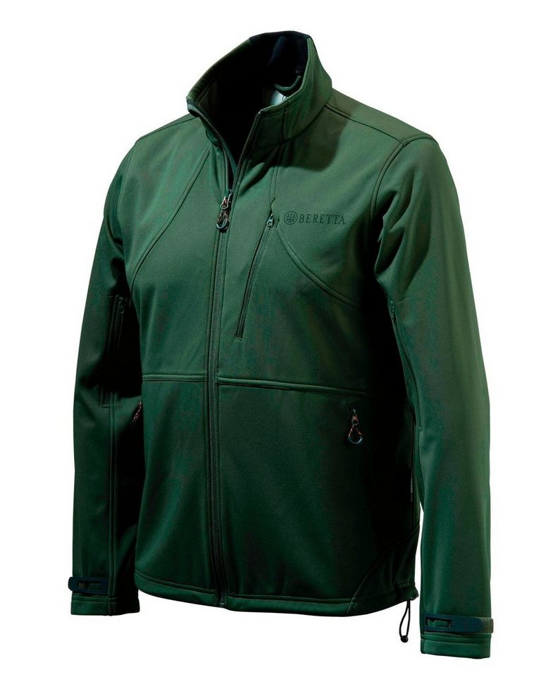 Beretta Soft Shell Fleece Jacke in Grün