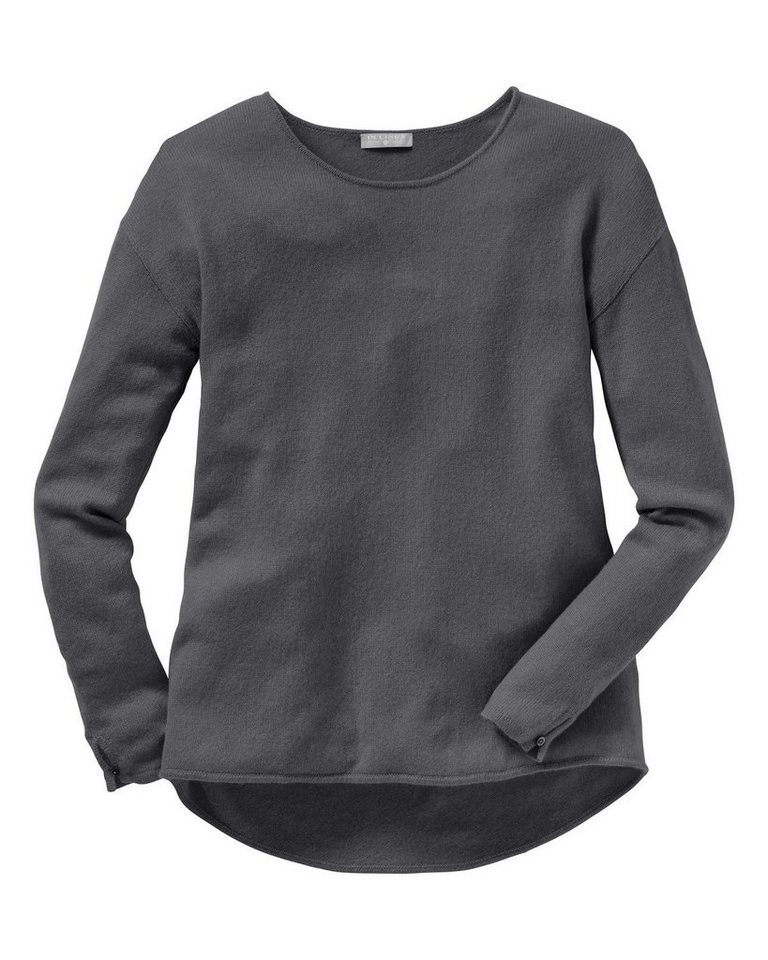 IN LINEA Cashmere Pullover in Anthrazit