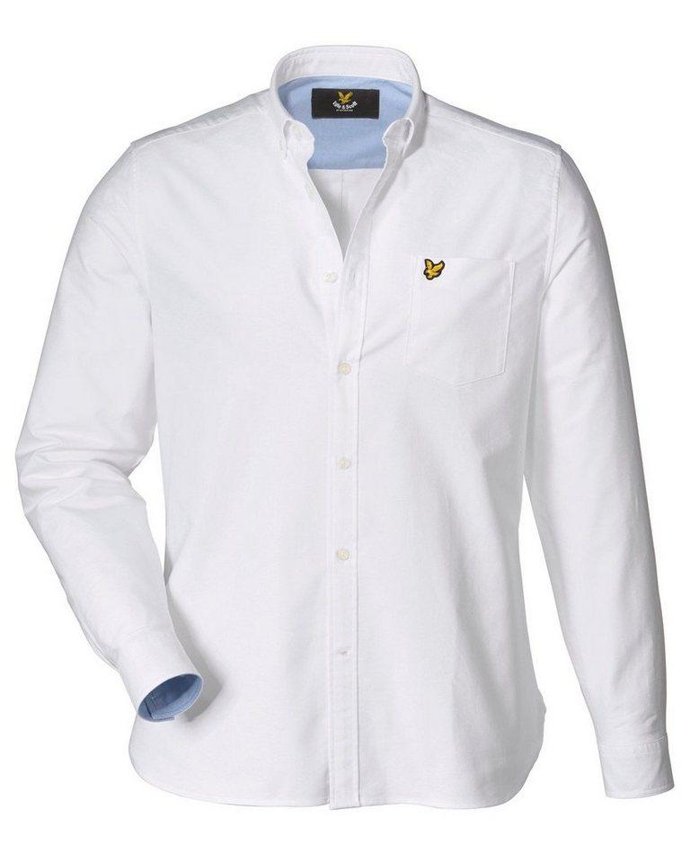Lyle & Scott Oxfordhemd in Weiß