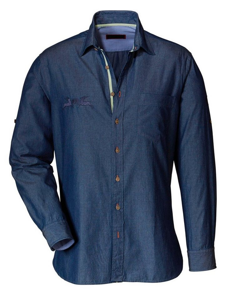 Reitmayer Jeanshemd in Blau