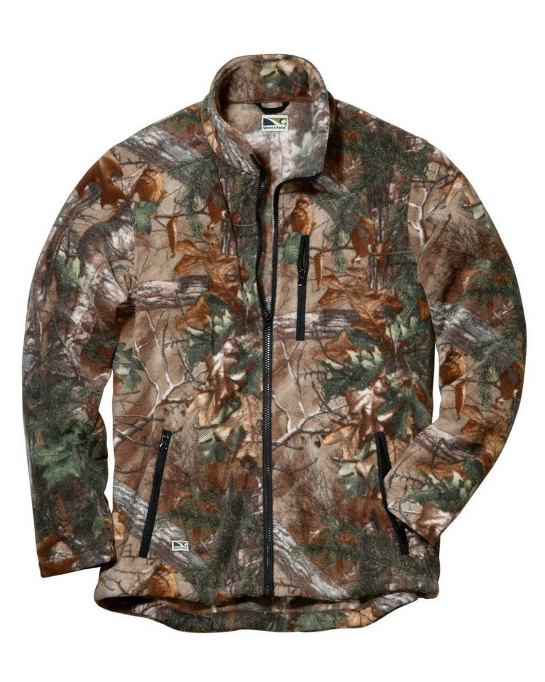 Wald & Forst Realtree-Fleecejacke in Realtree
