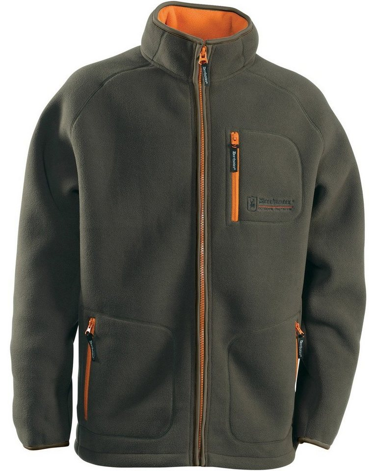 Deerhunter Fleecejacke Colville in Oliv/Orange