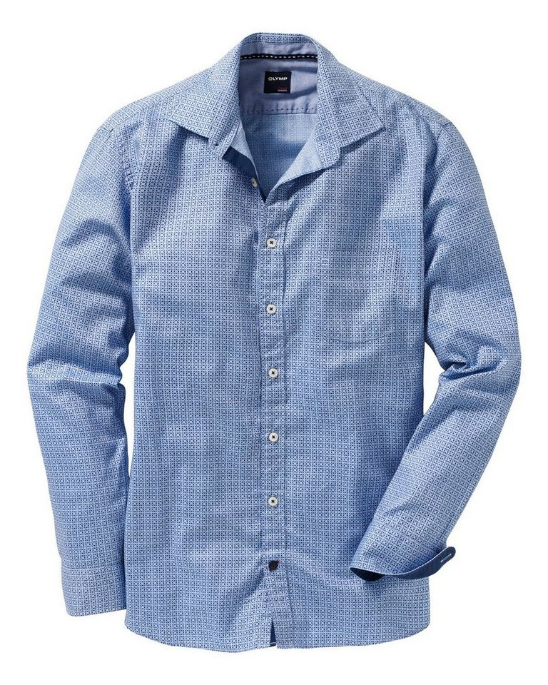 Olymp Casual Oxfordhemd in Blau