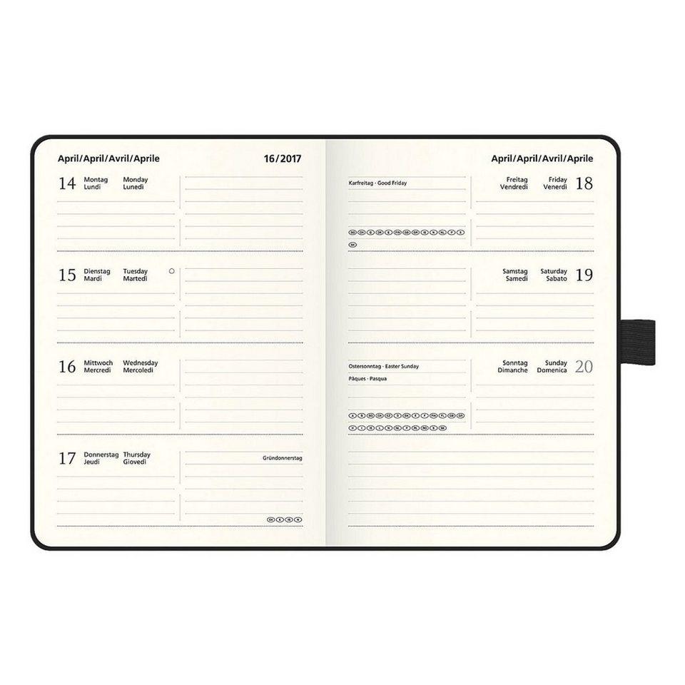 Brunnen Taschenkalender »Kompagnon 2017«