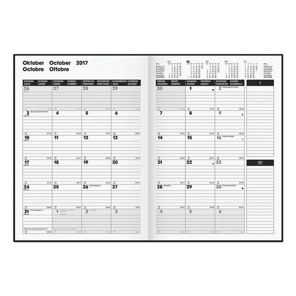 Brunnen Buchkalender A4 »TimeCenter 2017«