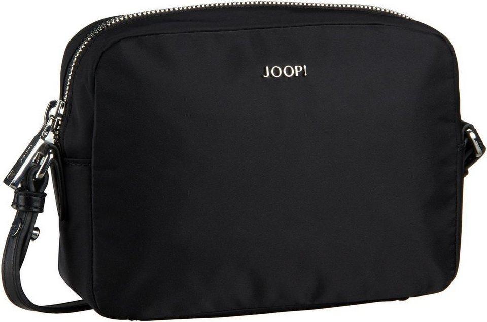 Joop Cloe Nylon Shoulder Bag Small in Black