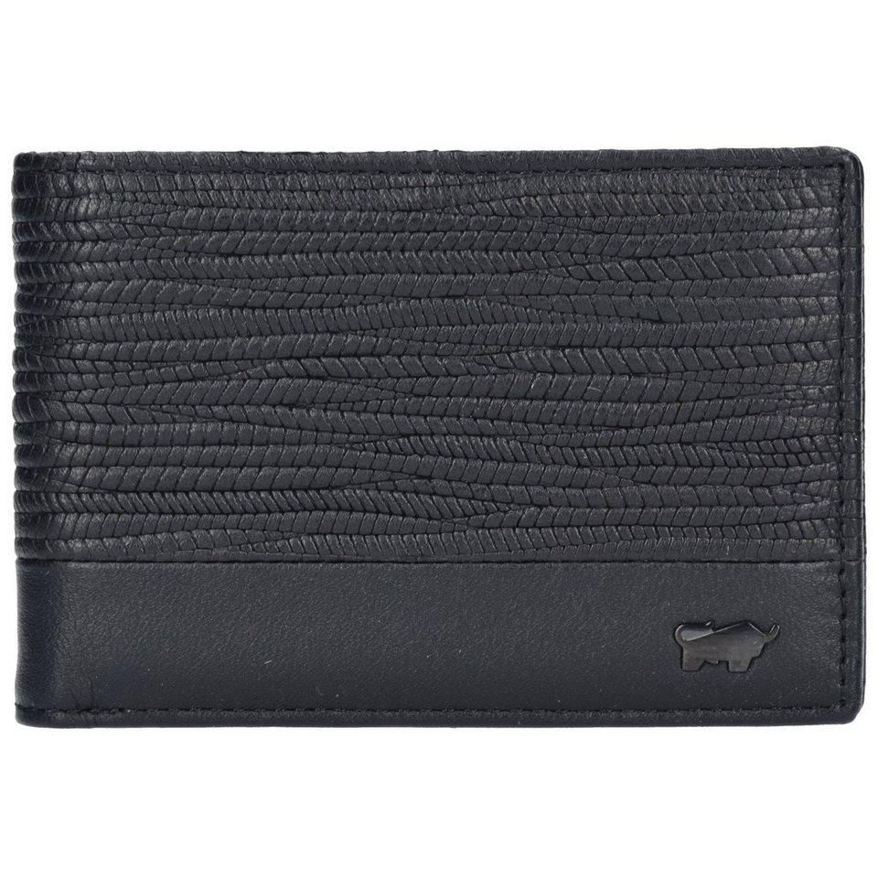 Braun Büffel Toulouse Geldbörse Leder 11 cm in black