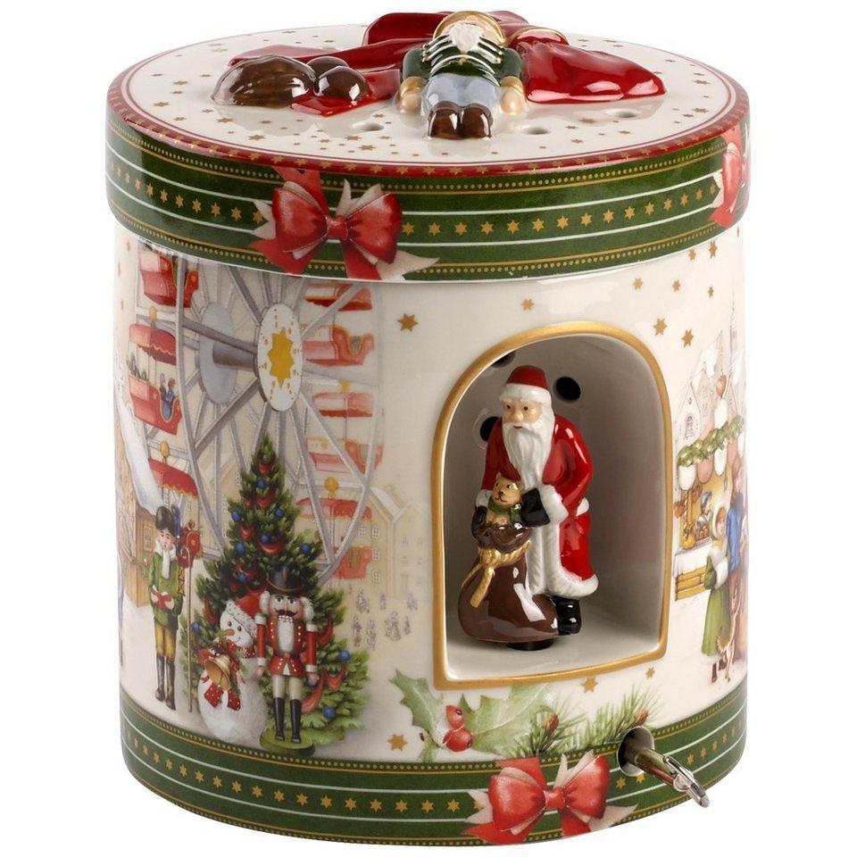 VILLEROY & BOCH Geschenkpaket groß rund Weihnachtsm »Christmas Toys« in Dekoriert