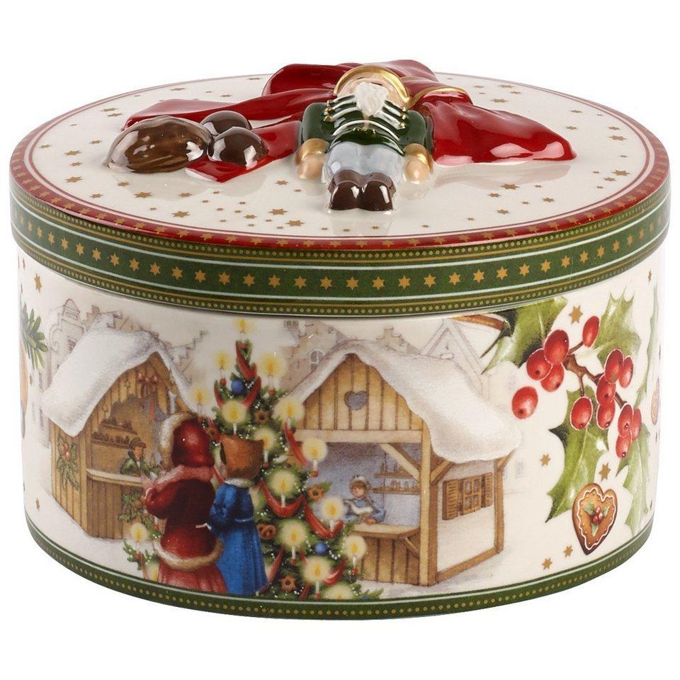 VILLEROY & BOCH Geschenkpaket mittel rd. Weihnachts »Christmas Toys« in Dekoriert