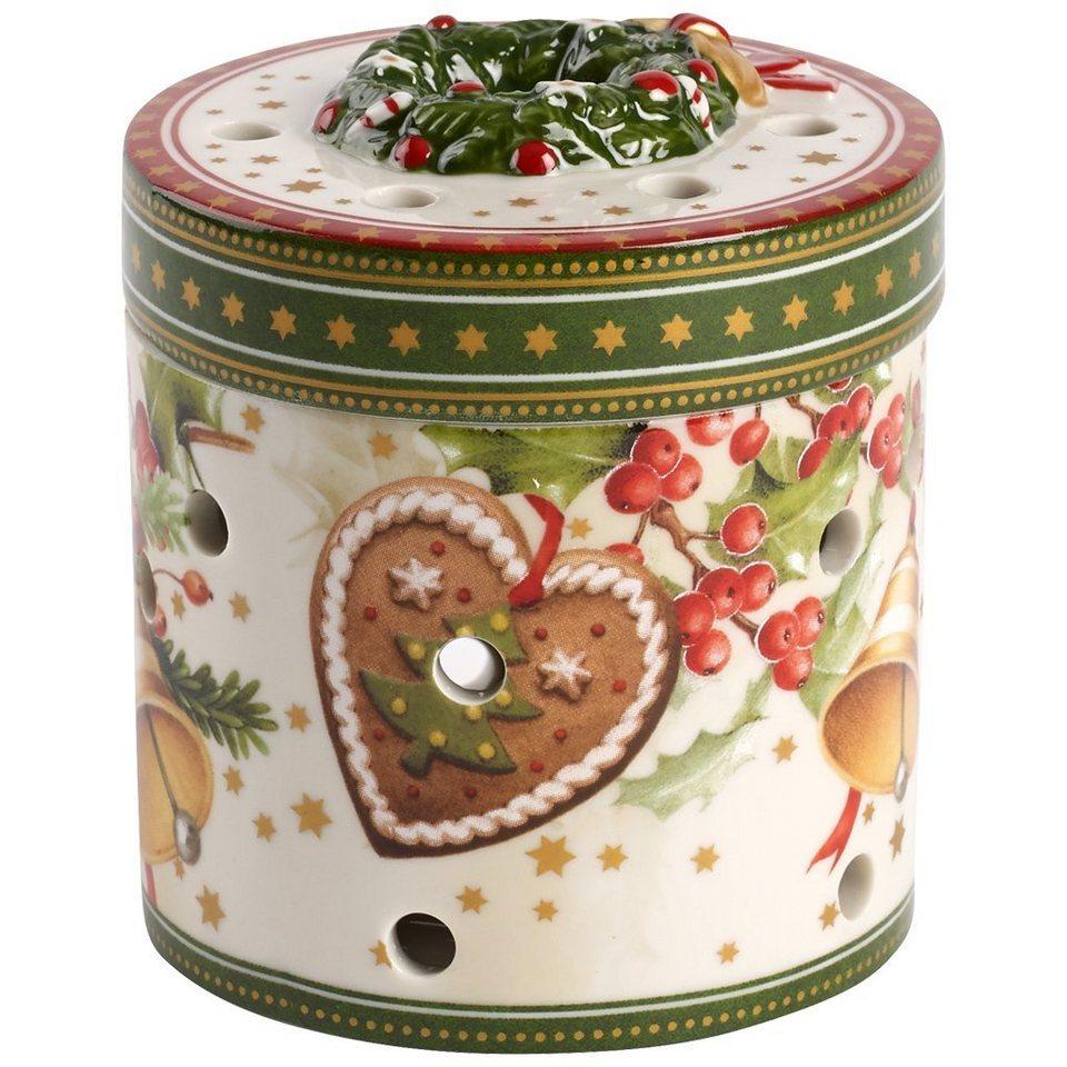 VILLEROY & BOCH Geschenkpaket klein rund Weihnachts »Christmas Toys« in Dekoriert
