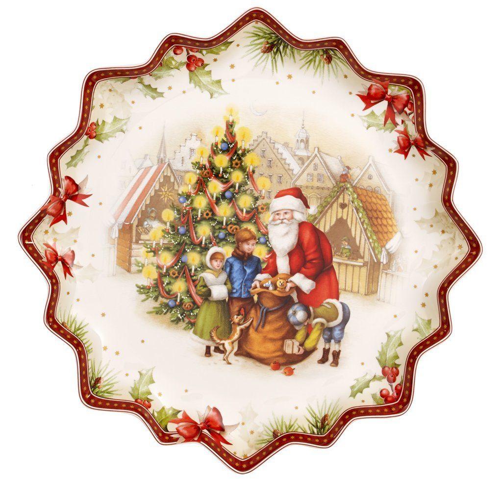 VILLEROY & BOCH Gebäckteller tief Santas Geschenke »Toy's Fantasy«