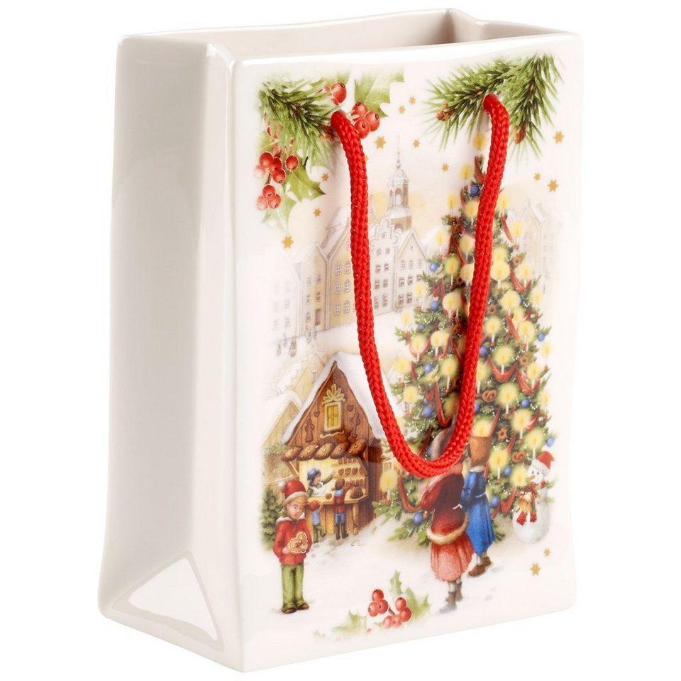 VILLEROY & BOCH Vase / Geschenktüte klein 11x6x15cm »Toy's Fantasy« in Dekoriert
