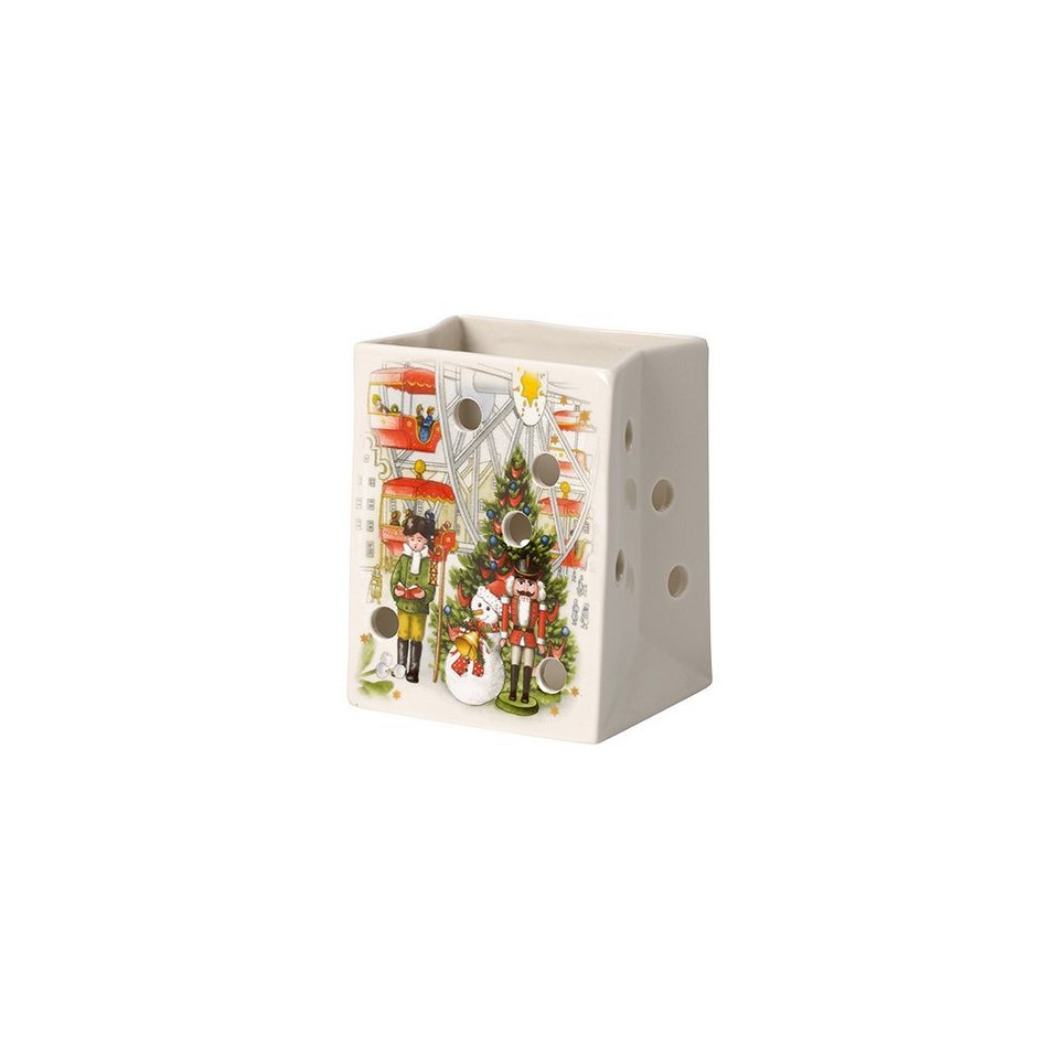 VILLEROY & BOCH Windlicht Tüte 10cm »Christmas Light« in Dekoriert