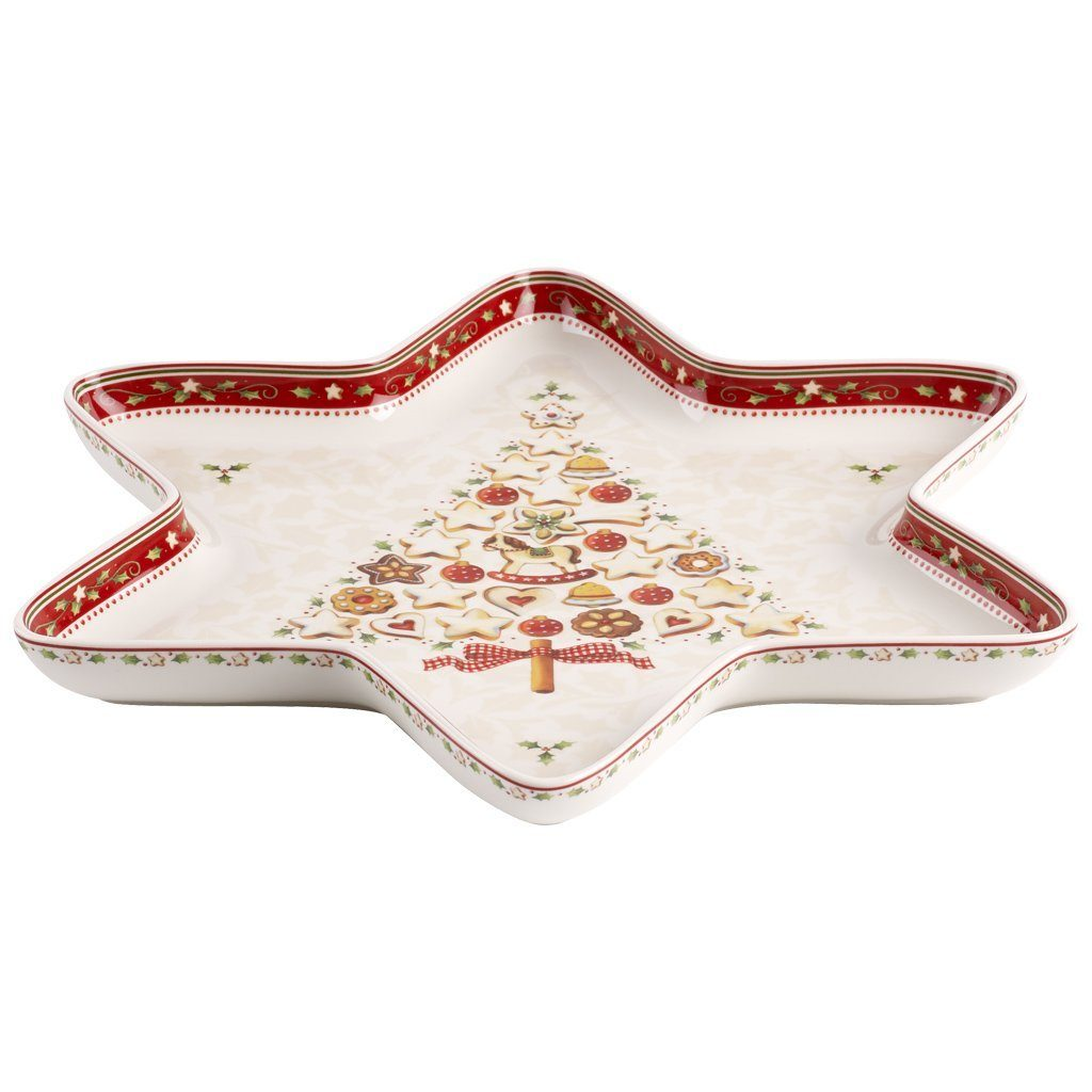 VILLEROY & BOCH Sternschale groß 37,5x33cm »Winter Bakery Delight«