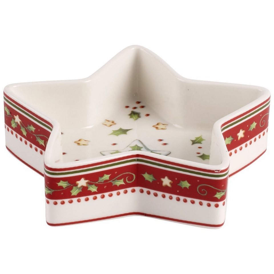 VILLEROY & BOCH Schälchen Stern 12x4cm »Winter Bakery Decoration« in Dekoriert