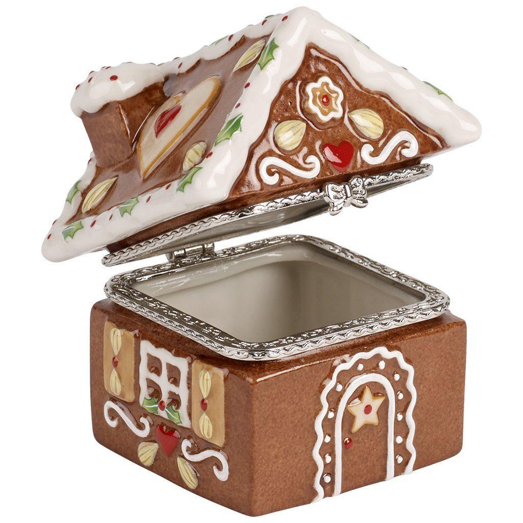 VILLEROY & BOCH Treat Lebkuchenhaus 6,5x8x8cm »Winter Bakery Decoration«