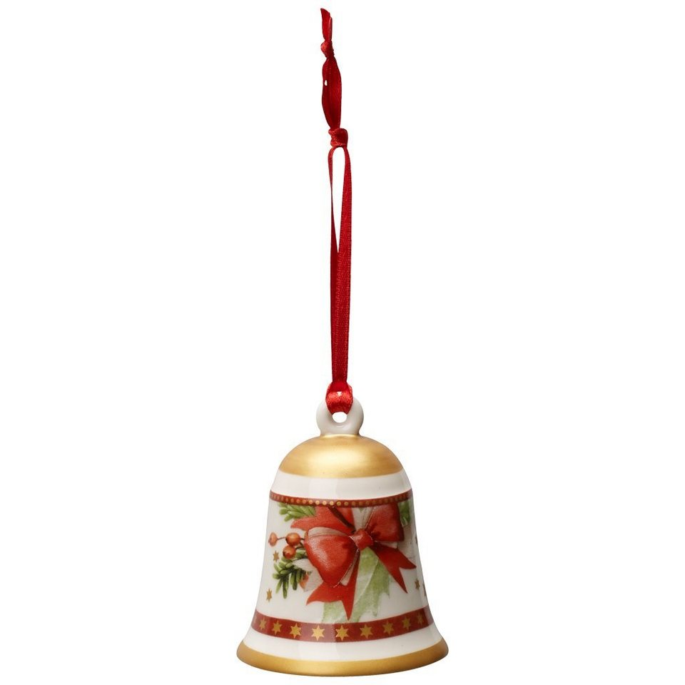 VILLEROY & BOCH Christbaumglocke rot 7cm »My Christmas Tree« in Dekoriert