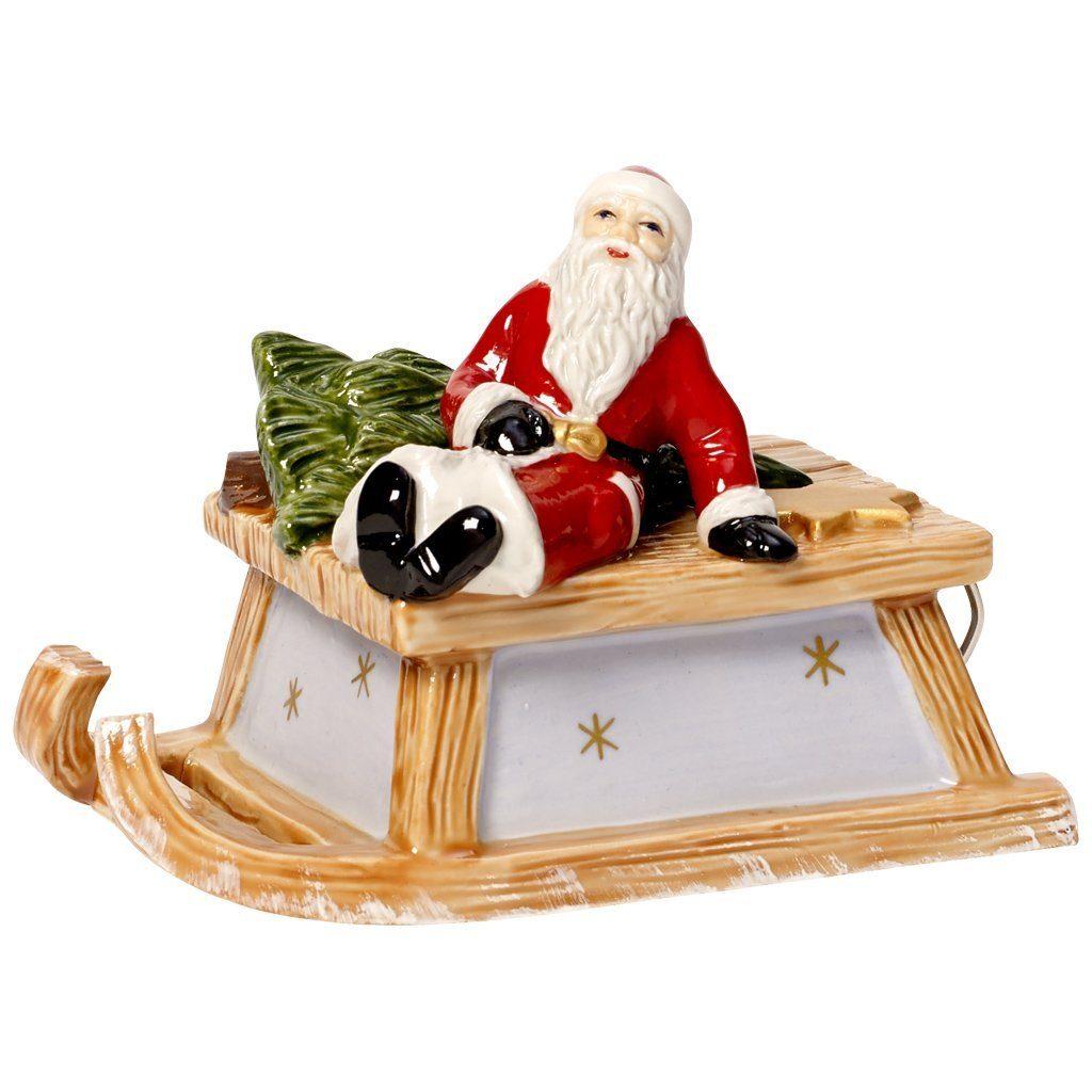 Villeroy & Boch Schlitten mit Santa 10cm »Nostalgic Melody«