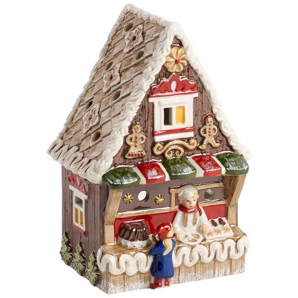 VILLEROY & BOCH Lebkuchenstand 13x8,5x18cm »Nostalgic Christmas Market« in Dekoriert