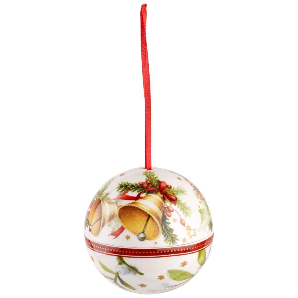 VILLEROY & BOCH Kugel Glocken 10cm »Christmas Balls«