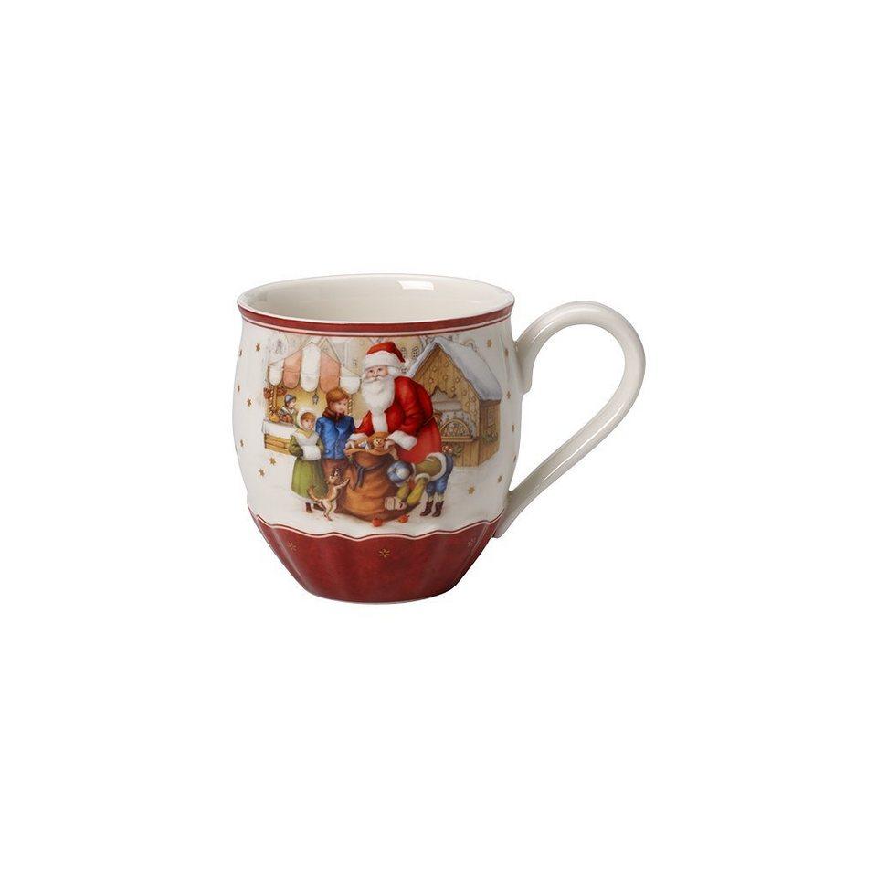 VILLEROY & BOCH Jumbobecher Santas Geschenke »Toy's Fantasy« in Dekoriert