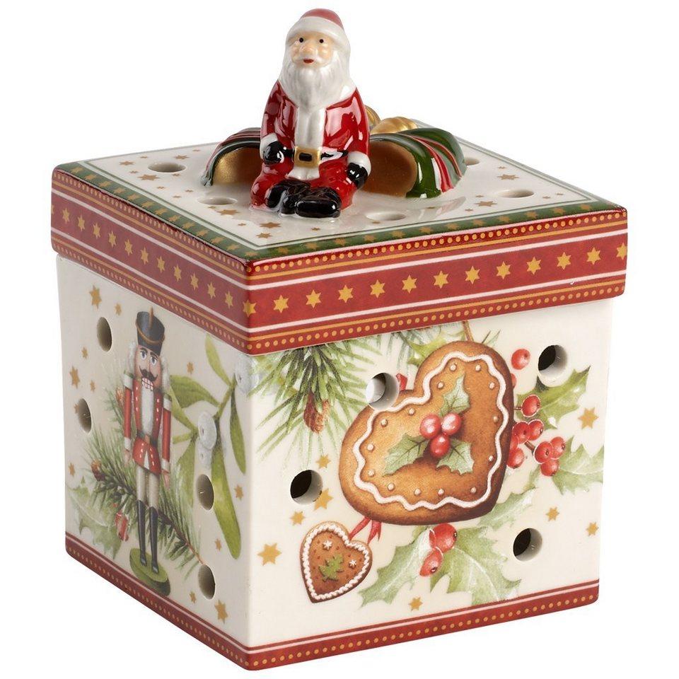 VILLEROY & BOCH Gechenkpaket klein eckig Weihnachts »Christmas Toys« in Dekoriert