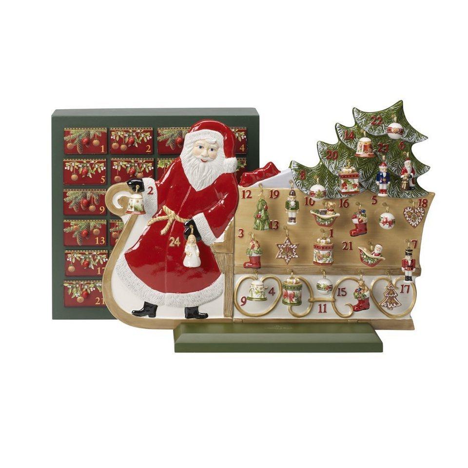 Villeroy & Boch Adventskalender Schlitten »Christmas Toys Memory ...