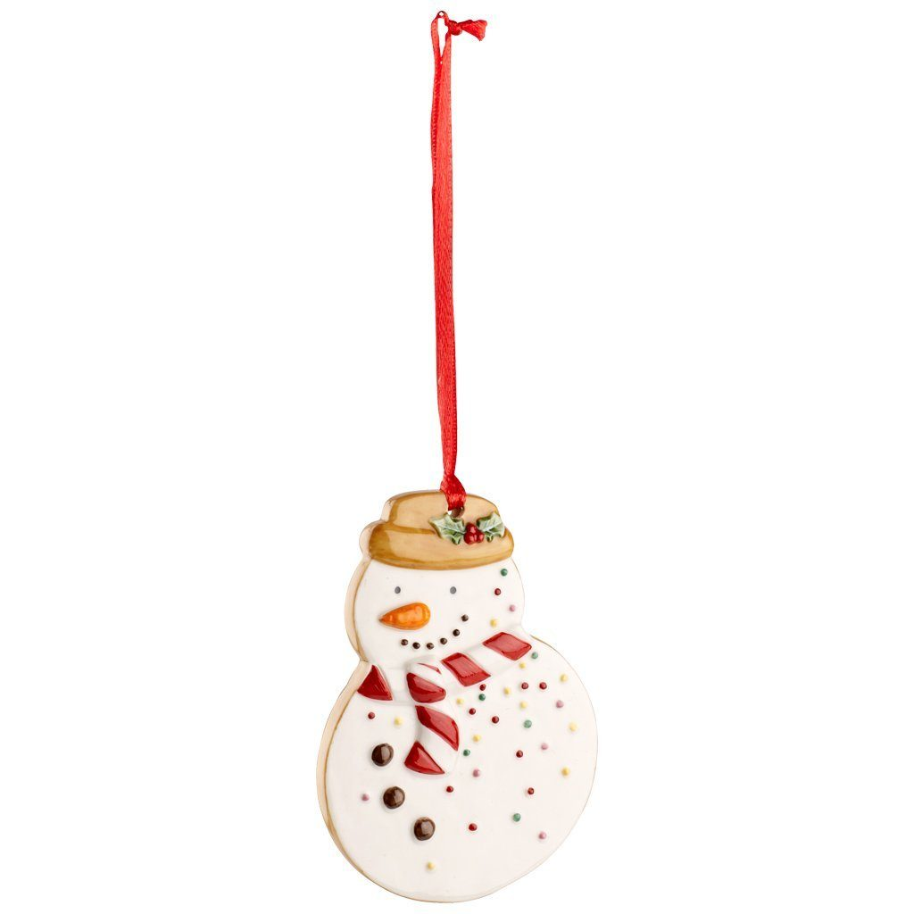 VILLEROY & BOCH Ornament Schneemann 9cm »Winter Bakery Decoration«
