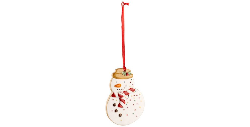 VILLEROY & BOCH Ornament Schneemann 9cm »Winter Bakery Decoration«