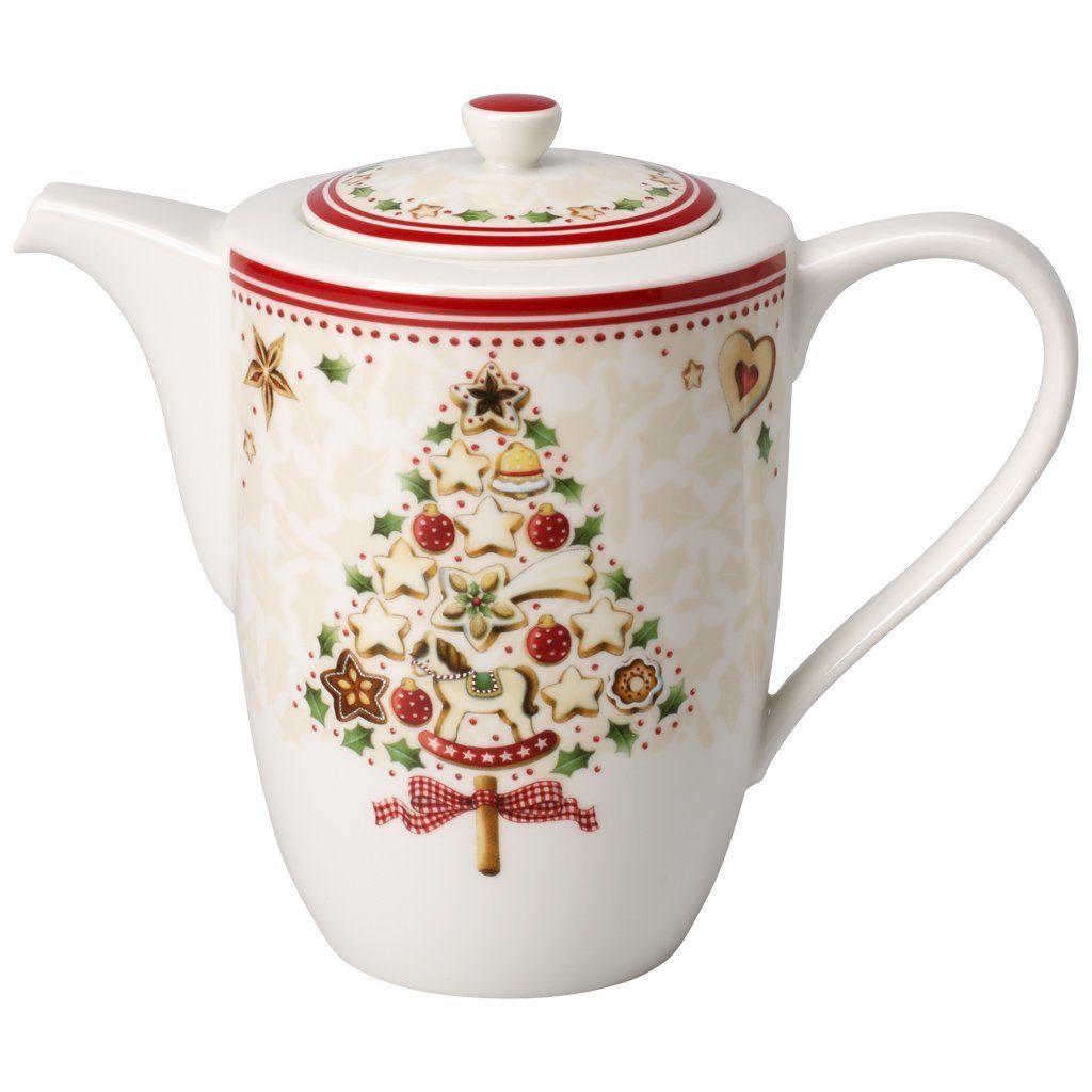 VILLEROY & BOCH Kaffeekanne 6 Pers. »Winter Bakery Delight«