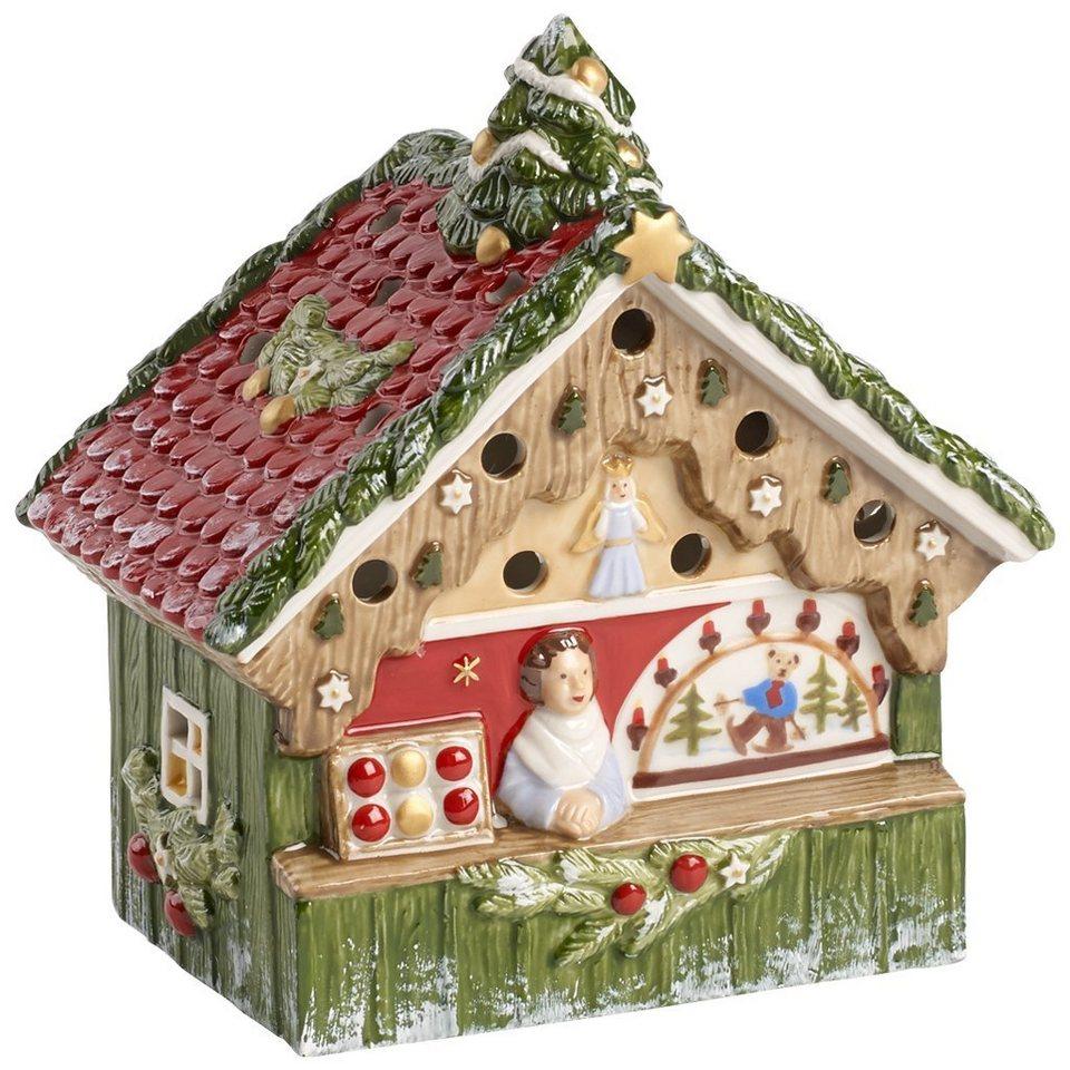 VILLEROY & BOCH Dekostand 15,5x9x16cm »Nostalgic Christmas Market« in Dekoriert