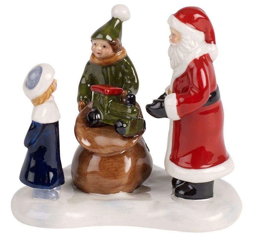Vorschaubild von Villeroy & Boch Santas Geschenke 8,5x6,5x8,5cm »Nostalgic Christmas Market«
