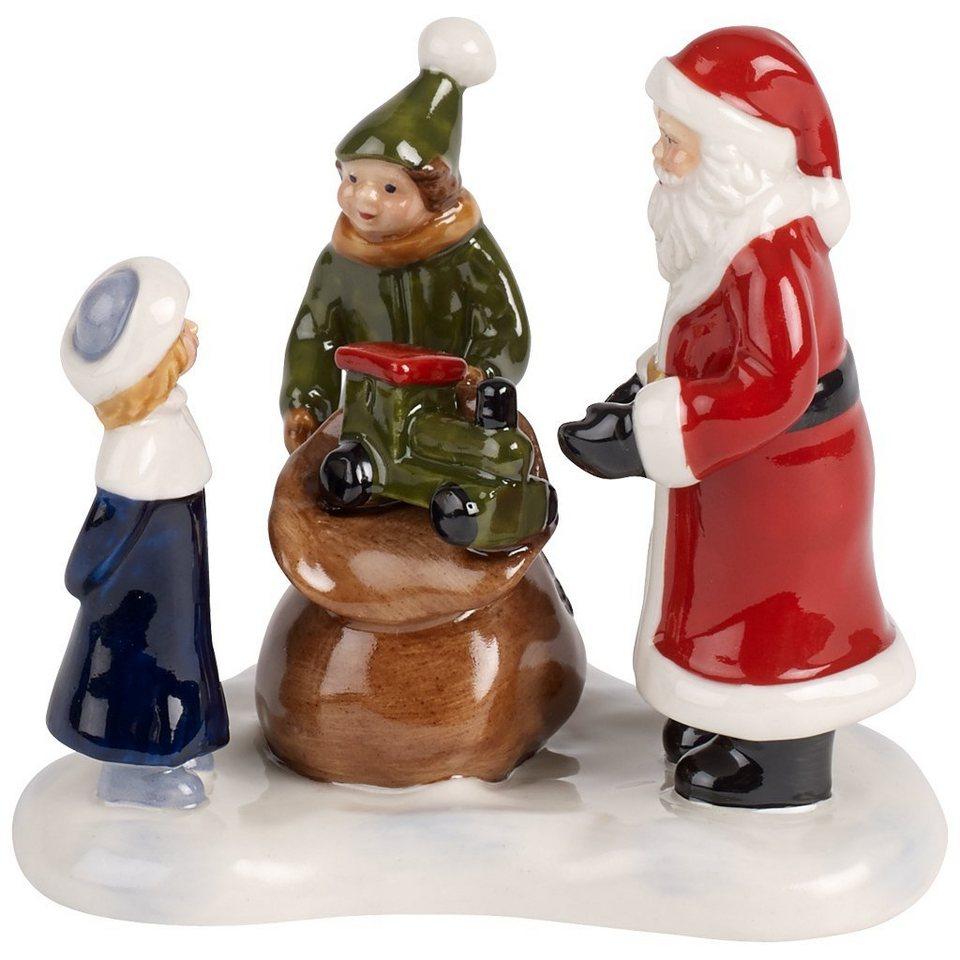 VILLEROY & BOCH Santas Geschenke 16x14x17cm »Nostalgic Christmas Market« in Dekoriert