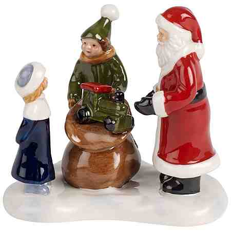 VILLEROY & BOCH Santas Geschenke 8,5x6,5x8,5cm »Nostalgic Christmas Market«