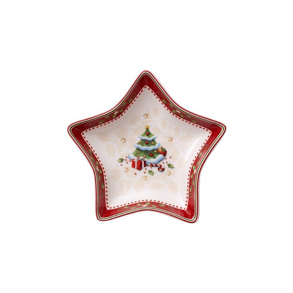 VILLEROY & BOCH Sternschale klein Weihnachtsbaum 13 »Winter Bakery Delight«