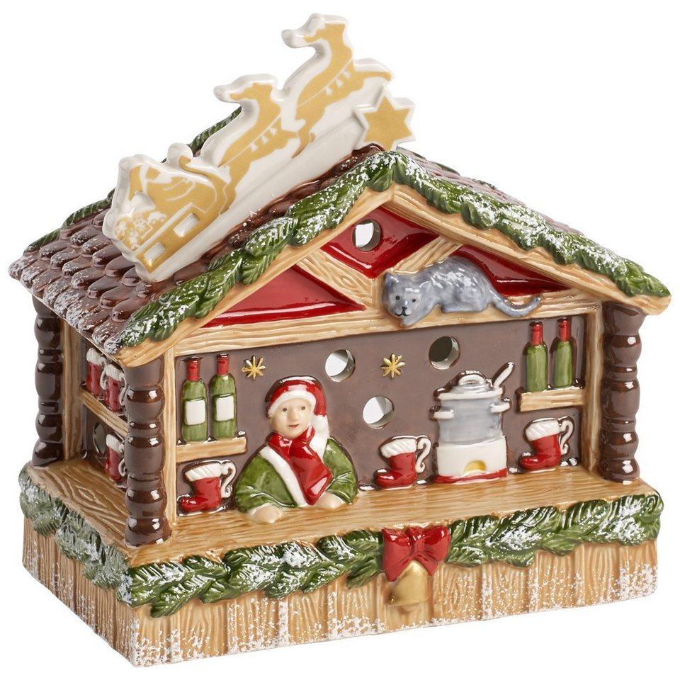 VILLEROY & BOCH Glühweinstand 15x8,5x15cm »Nostalgic Christmas Market« in Dekoriert