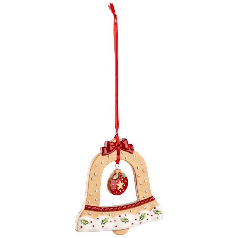 VILLEROY & BOCH Ornament Glocke 10cm »Winter Bakery Decoration« in Dekoriert