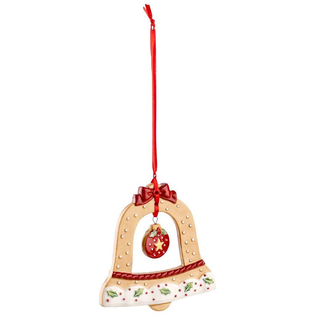 Villeroy & Boch Ornament Glocke 10cm »Winter Bakery Decoration«