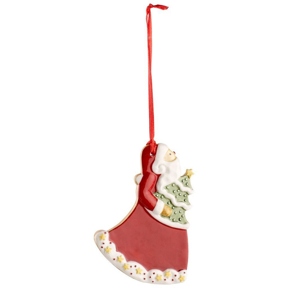 VILLEROY & BOCH Ornament Santa 9,5cm »Winter Bakery Decoration« in Dekoriert