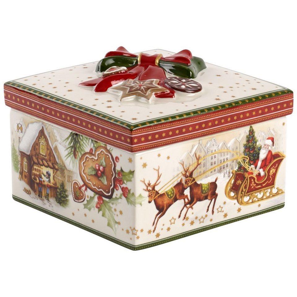 VILLEROY & BOCH Geschenkpaket mittel eck.Weihnachts »Christmas Toys« in Dekoriert