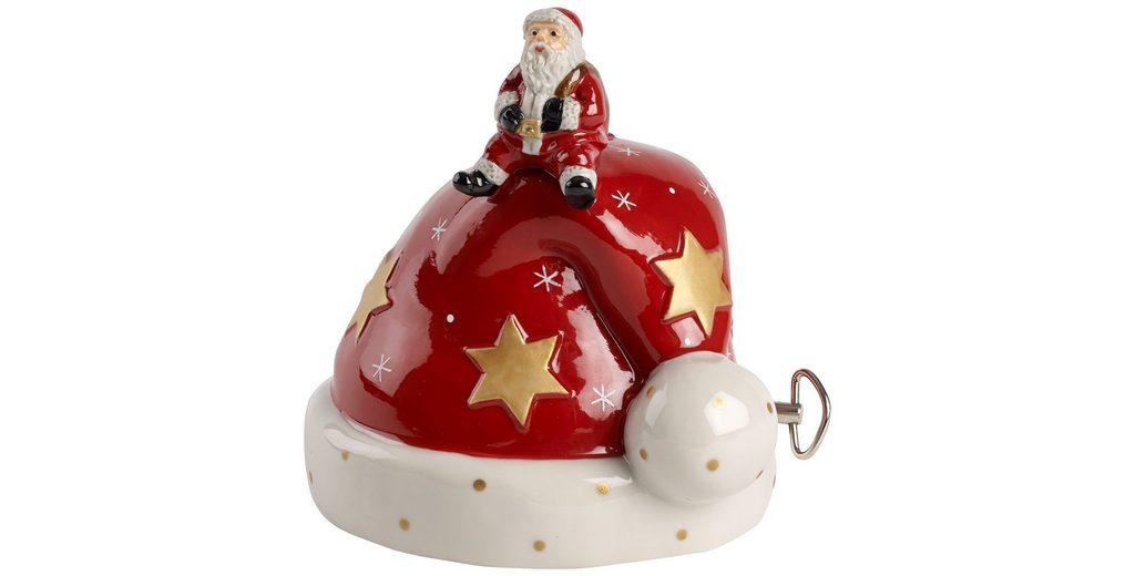 VILLEROY & BOCH Mütze mit Santa 12cm »Nostalgic Melody«