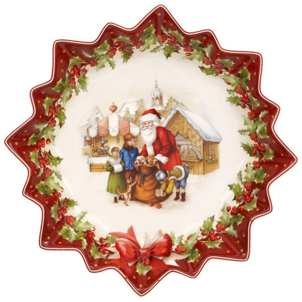 VILLEROY & BOCH Schale groß Santas Geschenke »Toy's Fantasy«