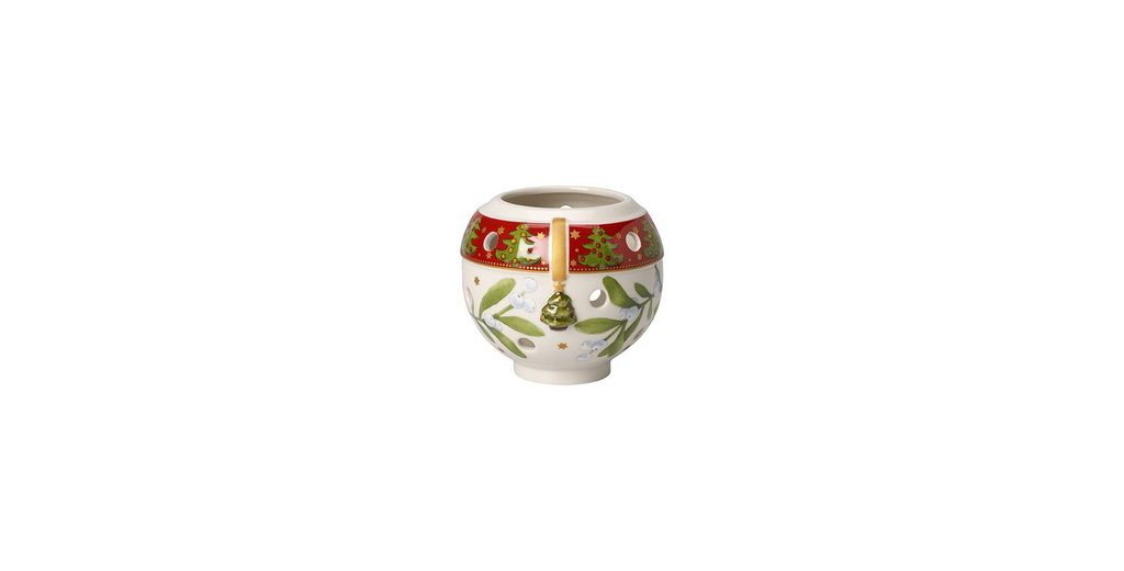 VILLEROY & BOCH Windlicht Weihnachtskugel 9,5cm »Christmas Light«