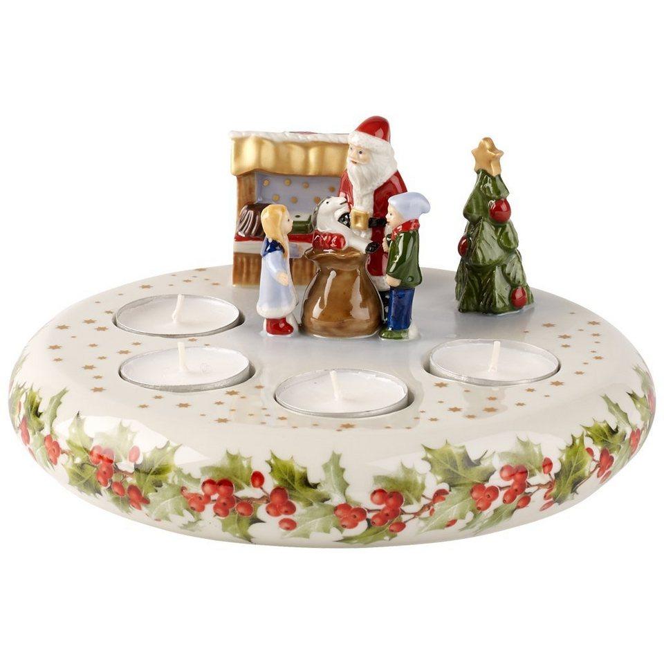 VILLEROY & BOCH Adventsleuchter »Christmas Toys Memory« in Dekoriert