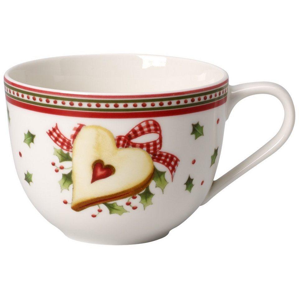 VILLEROY & BOCH Kaffeeobertasse - neu »Winter Bakery Delight« in Dekoriert