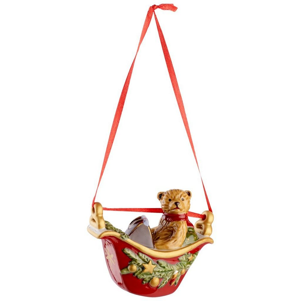 VILLEROY & BOCH Riesenradgondel Teddy 6cm »My Christmas Tree« in Dekoriert
