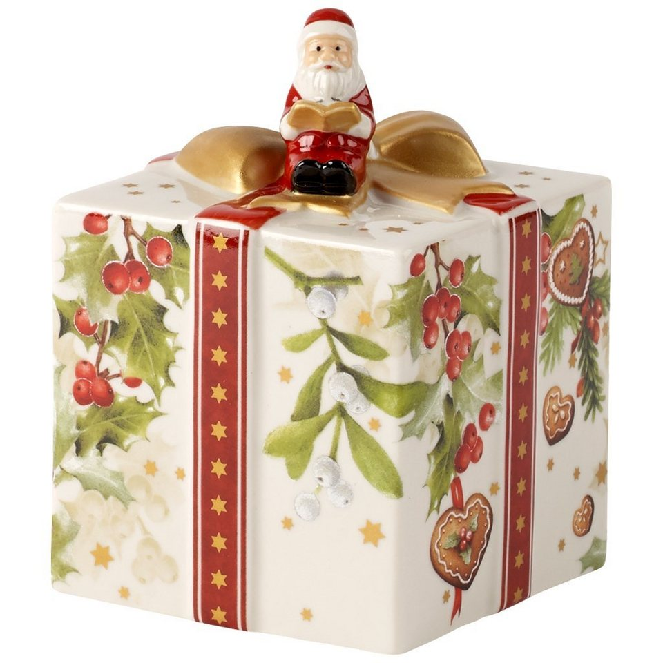 VILLEROY & BOCH Geschenkpaket mit Santa 10cm »Nostalgic Melody« in Dekoriert