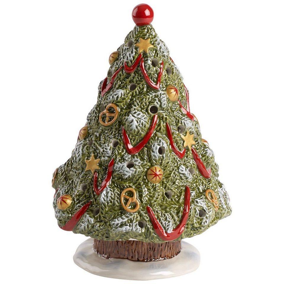 VILLEROY & BOCH Christbaum 20cm »Nostalgic Christmas Market« in Dekoriert